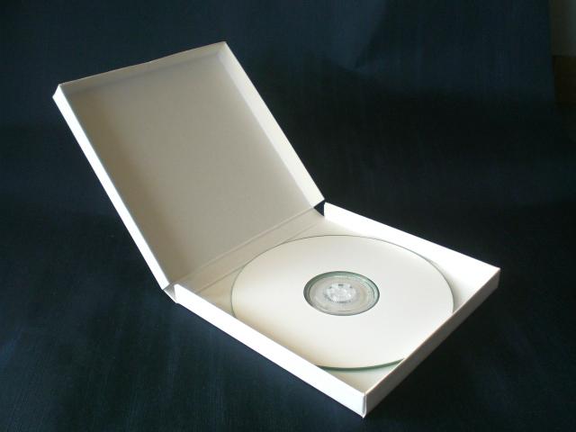 CD、DVDケース貼箱(紙製ワンピースタイプ)