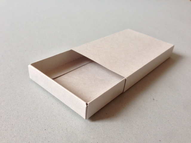 スリーブと組立箱のセット紙箱