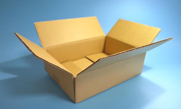 【製作事例】A式段ボール箱 印刷入り