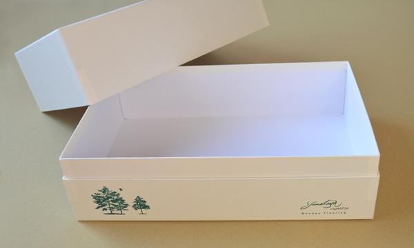 【製作事例】木材カットサンプル貼箱