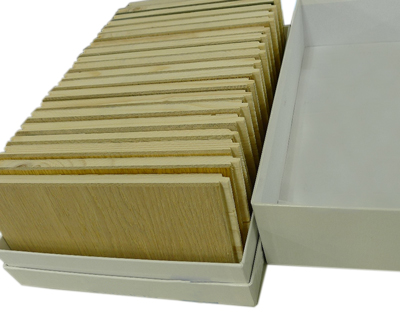 木材カットサンプル箱 使用イメージ
