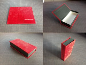ブックタイプ貼箱の画像