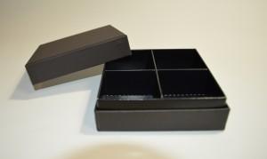 製作事例 お菓子4個入り箱 試作