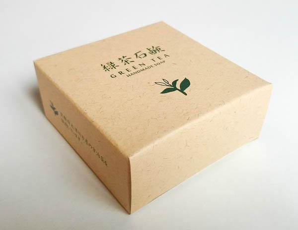 緑茶石けん箱1