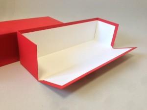 箱の側面が開く変形貼箱
