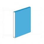 【薄型ブックケースのデータ制作】本とケースの向き