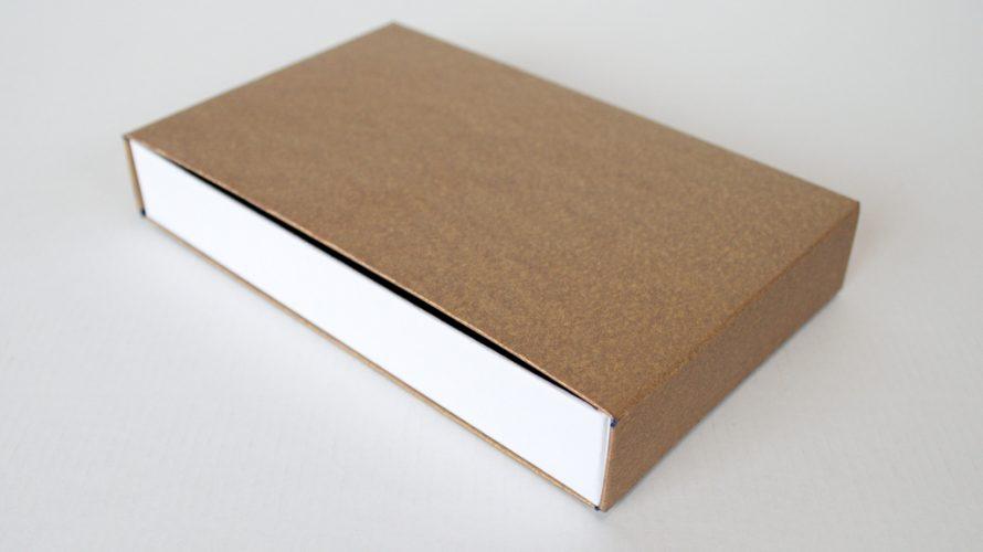 引き出し箱(貼箱+小口折りブックケース)