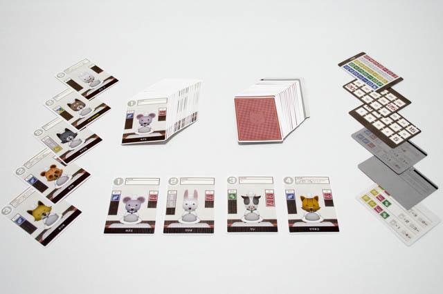 料理人 カード印刷 全体